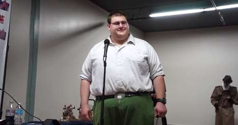Real-Life Cartoon Characters - The Real Life Peter Griffin is Freakishly Accurate