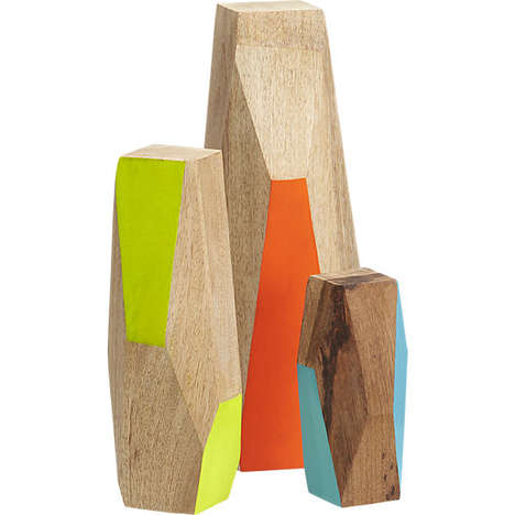 Abstract Geometry Decor - CB2