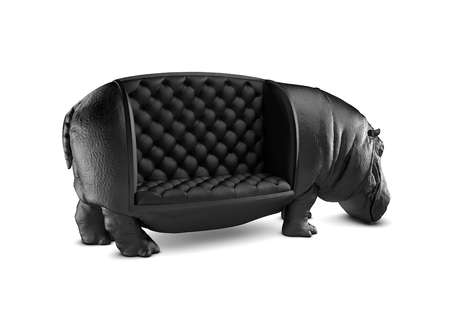 Surrealist Safari Seating (UPDATE) - This Animal Chair Design is Stunning and Comfortable