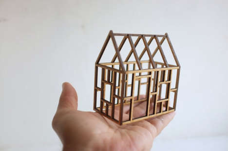 Miniature Architecture Decor - Etsy