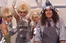 Weird Foil Parodies - Al Yankovic Makes Fun of the Illuminati and Lorde in his Royals Parody