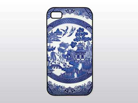 China Plate Tech Accessories - This Blue Willow iPhone Case from Etsy Embraces Traditional Motifs