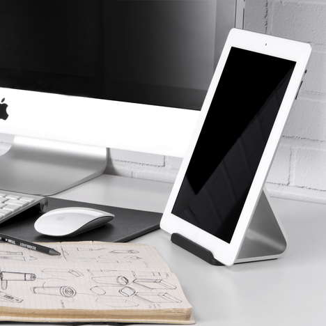 Streamlined Device Stands - The Mika Tablet Stand Is a Sleek Design for Your Handheld Accessory