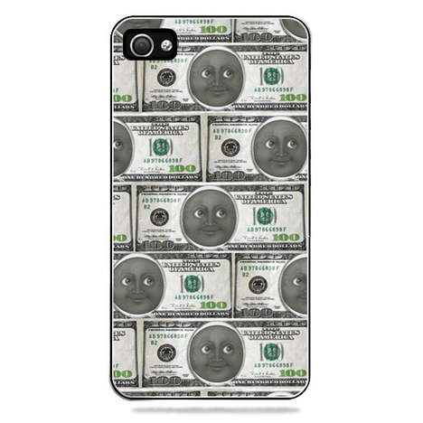 Lunar Bankroll Cases - My Moon My Money iPhone 5 Case Features the Popular Emoji