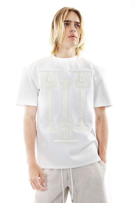 Haute Historical Streetwear - The Di Morabito Spring/Summer 2015 Catalog References Roman Times