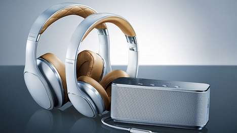 Competitive Headphone Collections - Samsung is Introducing Level as a New Headphones Brand