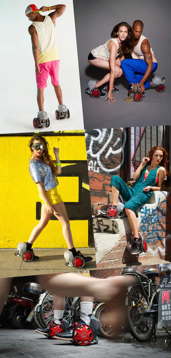 Smart Electric Skates - The ACTON R RocketSkates by Peter Treadway is the First of Its Kind