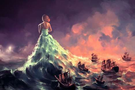 Psychological Fantasy Paintings - Cyril Rolando