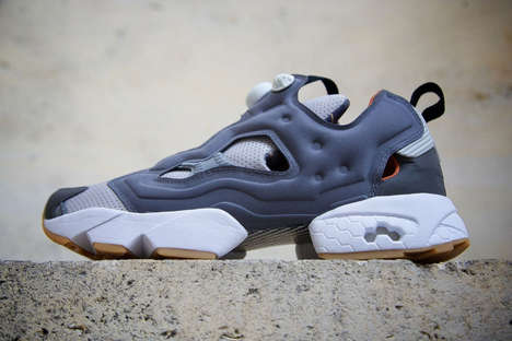 Industrial Sneaker Designs - The Instapump Fury Sneaker Features Bright Accents