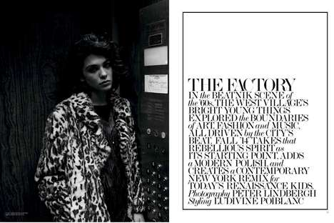 Enigmatic Factory Editorials - The Interview Issue Stars Photographer Peter Lindbergh