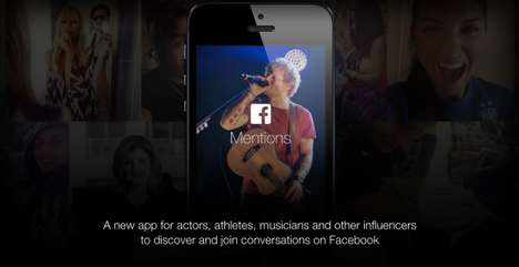 Celebrity Socializing Apps - Facebook is Releasing a Social Media App Called