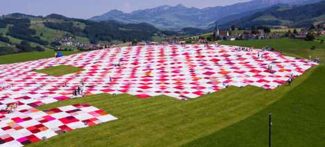 Record Breaking Picnic Blankets - BIGNIK is the World