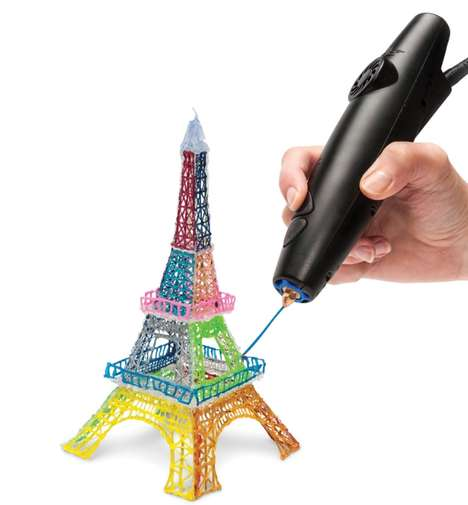 3D Printing Pens - This Amazing Pen is Able to Draw and Print Objects Instantaneously in 3D