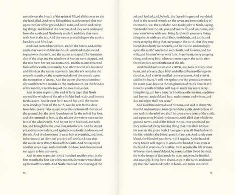 Redesigned Bibles - Bibliotheca by Adam Lewis Greene Makes the Text Easier to Read