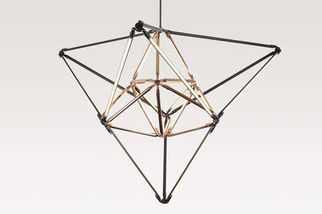 Modern Geometric Lighting - Bec Brittain