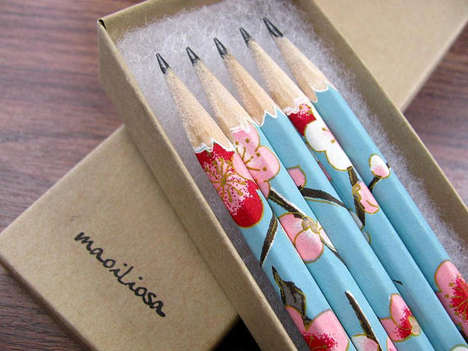Botanical Stationary Accessories - Etsy
