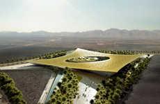 Spiritual Oasis Architecture - Rafael de La-Hoz Enters the Noble Quran Oasis Competition