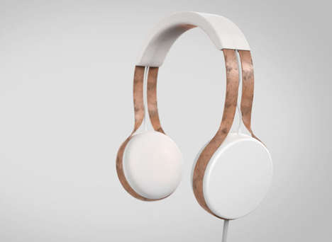 Minimalist Professional Headphones - Cyprium by Dan Salisbury is Based on the Sennheiser HD25-1