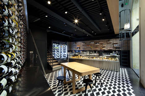 Technical Furniture Cheese Shops - Vincent Coste Helps Design La Fromagerie du Passage in Paris