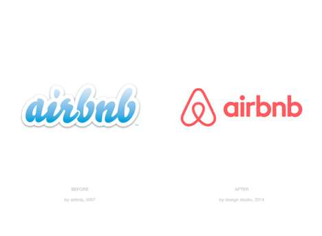 Community-Focused Logos - Airbnb Upgrades its Latest Branding Initiatives