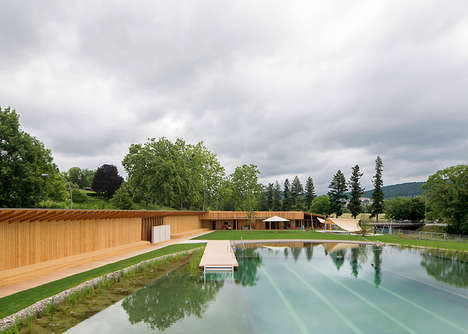 Naturally Filtered Pools - This Filtered Swimming Pool Acts Like a Lake