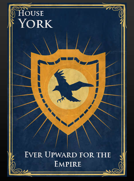 State Specific Sigils - These Game of Thrones Sigils Represent Each American State as a House
