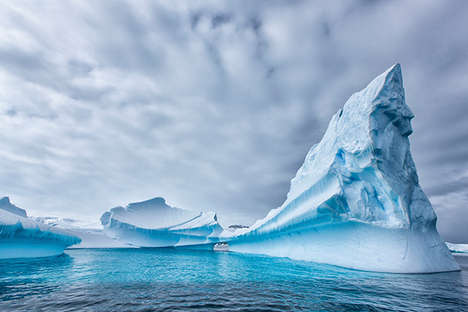 Majestic Iceberg Photography - This Antarctica Photography Series is Ethereal and Captivating