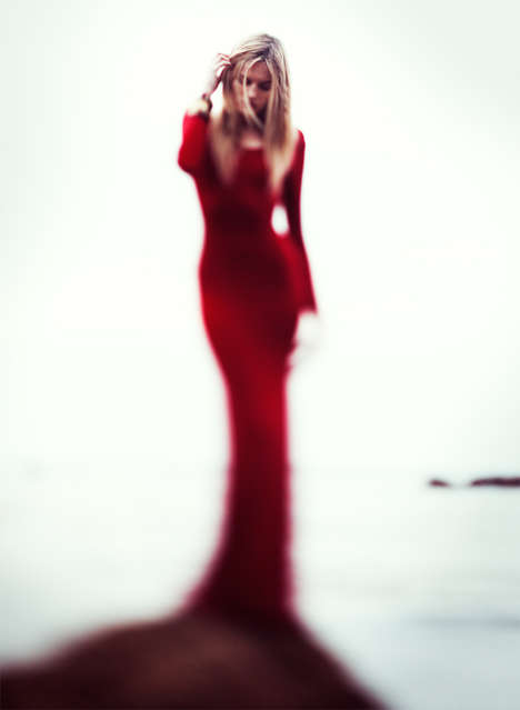 Blurred Silhouette Editorials - Aaron Feaver