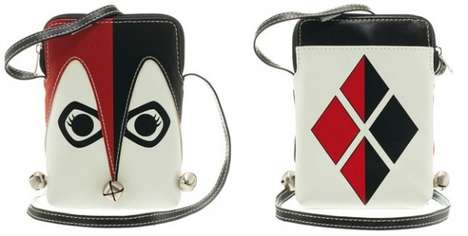 Villainous Harlequin Wallets - This Harley Quinn Wallet is Inspired by the Jesting Batman Villain
