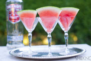 This Recipe Teaches You How To Infused Watermelon Slices With Vodka
