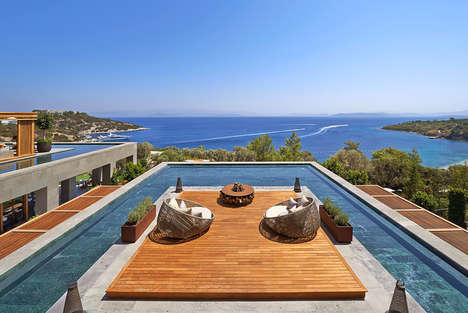 Panoramic Mediterranean Resorts - The Mandarin Oriental Bodrum Boasts Luxe Amenities and Epic Views