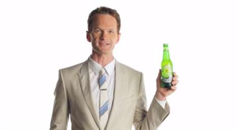 Compliant Beer Ads - This Heineken Beer Commercial Stars Neil Patrick Harris Begging to Take a Sip