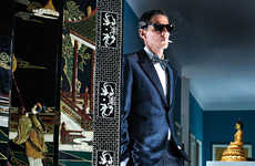 Opulent Millionaire Editorials - Male Model Scene's A View To Kill Fashion Story is Dapperly Dressed
