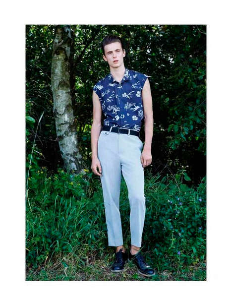 Woodland Rockabilly Catalogs - The Sissi Goetze Spring/Summer 2015 Lookbook is Retro-Themed