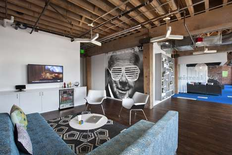 Contemporary Hipster Offices - Adobe