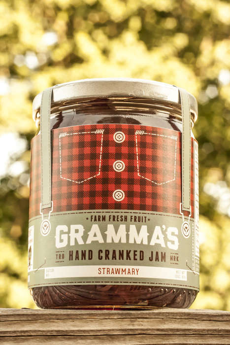 Clothed Confiture Packaging - Gramma