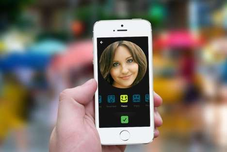 Emotional Messaging Apps - The Xpress App Uses Replaces Emojis with Your Own Expressive Selfies