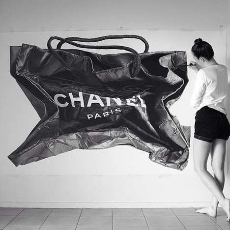 Photorealistic Shopping Bag Illustrations - CJ Hendry