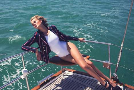 Chic Nautical Editorials - Net-a-Porter
