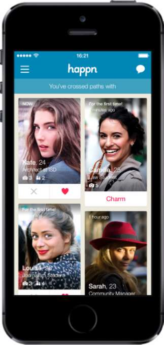 Encounter-Based Dating Apps - Happn is a Missed Connections App Based on Real Life Interactions