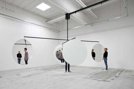 Mirrored Art Installations - Jeppe Hein Creates Large-Scale Reflective Sculptures