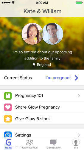 Pregnancy Preparation Apps - Glow Nurture Helps Parents Plan, Prepare & Learn About Pregnancies