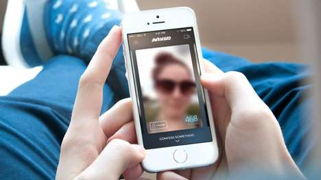Video Confession Apps - The Awkward App Lets You Record Anonymous Video Confessions to Friends