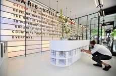 Archival Retail Environments - The Marie-Stella-Maris Debut Store Chronicles Its Brand History