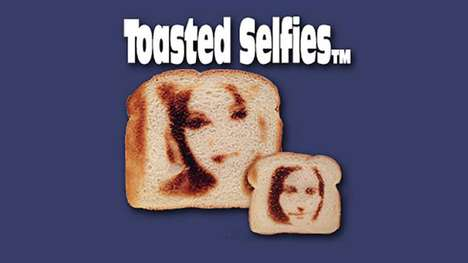 Toasted Bread Selfies - The Selfie Toaster Encourages You to Print Your Selfie Pictures onto Bread