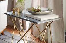 The Waldorf Side Table from West Elm Embodies Understated Elegance