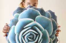 Etsy's Plantillo Shop Creates Nature-Themed Pillow Designs