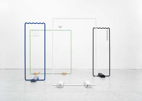 Minimalist Clothing Storage Concepts - Erik Olovsson and Kyuhyung Cho