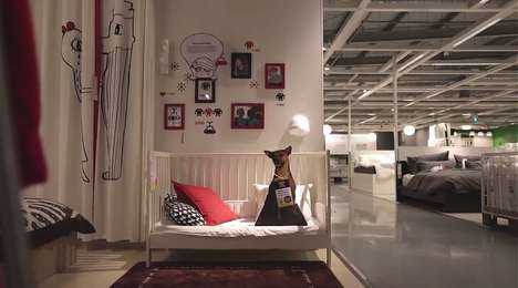 Furniture-Shopping Dog Adoptions - Ikea