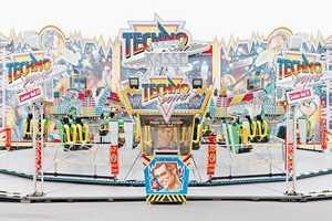 Daniel Sebastian Schaub Captures Various Zany Carnival Carousels